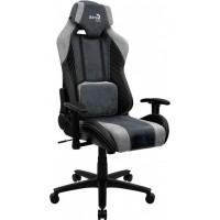 Кресло геймерское AEROCOOL BARON Steel Blue