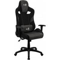Кресло игровое AEROCOOL COUNT Iron Black
