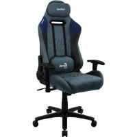 Кресло геймерское Aerocool Duke Steel Blue