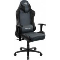 Кресло геймерское AEROCOOL KNIGHT Steel Blue