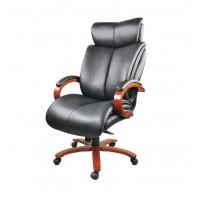 Кресло для руководителя Аризона Софт АКлассEX МB кожа чёрный