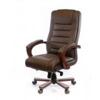 Кресло для руководителя Гаспар АКласс ЕХ МB коричневый