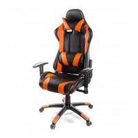 Кресло компьютерное Хорнет АКЛАС PL RL оранжевый