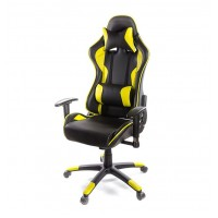 Кресло компьютерное Хорнет АКЛАС PL RL желтый