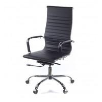 Кресло для руководителя Кап АКласс СН D-Titl экокожа чёрный
