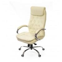 Кресло для руководителя Лацио АКласс Soft СН МB кожа бежевое