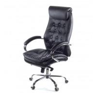Кресло для руководителя Лацио АКласс Soft СН МB кожа черное