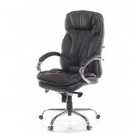 Кресло офисное Тироль АКласс Soft СН МB кожа черное