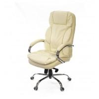 Кресло офисное Тироль АКласс Soft СН МB кожа бежевое