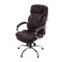Кресло офисное Тироль АКласс Soft СН МB кожа коричневое