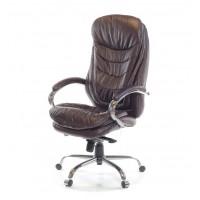 Кресло для руководителя Валенсия АКласс Soft СН МB кожа коричневый