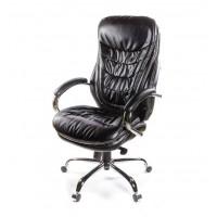 Кресло для руководителя Валенсия АКласс Soft СН МB кожа чёрный