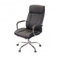 Кресло для руководителя Виконт АКласс СН ANF экокожа чёрный