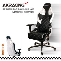 Кресло Akracing Sport Car PS911 Black&White