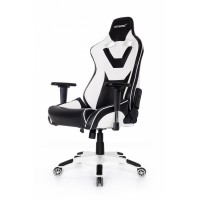 Кресло игровое Akracing ProX CP-LY White&Black