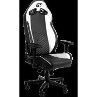 Кресло геймерское GT RACER X-8010 Black/White