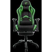 Кресло геймерское GT Racer X-2534-F Black/Green