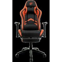 Кресло геймерское GT Racer X-2534-F Black/Orange