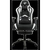 Кресло геймерское GT Racer X-2534-F Black/White