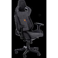 Кресло GT RACER X-8005 Dark Grey/Black Suede
