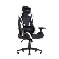 Кресло игровое HEXTER Pro 02 black white
