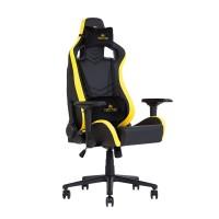 Кресло игровое HEXTER Pro 01 black yellow