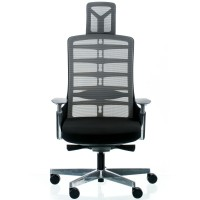 Кресло SPINELLY BLACK/METALLIC