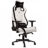 Кресло игровое Noblechairs EPIC White/Black