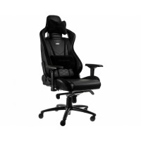 Кресло игровое Noblechairs EPIC Real Leather Black