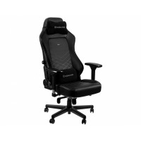 Кресло игровое Noblechairs HERO Black/Platinum White