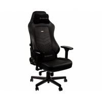 Кресло игровое Noblechairs HERO Real Leather Black