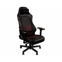 Кресло компьютерное Noblechairs HERO Real Leather Black/Red