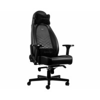 Кресло игровое Noblechairs ICON Real Leather Black