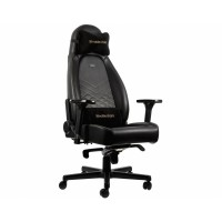 Кресло офисное Noblechairs ICON Black/Gold