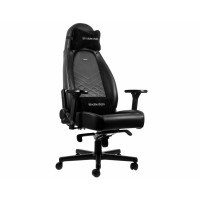 Кресло офисное Noblechairs ICON Black/Platinum White