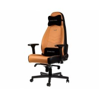 Кресло офисное Noblechairs ICON Real Leather Cognac/Black
