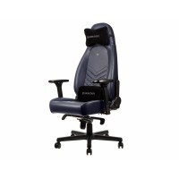 Кресло компьютерное Noblechairs ICON Real Leather Midnight Blue