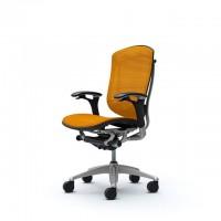 Кресло офисное OKAMURA CONTESSA MESH ORANGE