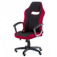 Кресло Riko black/red