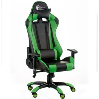 Кресло Special4You ExtremeRace black/green E5623