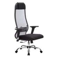 Кресло Metta комплект 18/2D CH серый