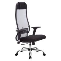 Кресло Metta комплект 18/2D CH светло серый