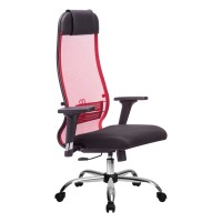Кресло Metta комплект 18/2D CH красный