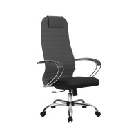 Кресло Metta BK-10 CH темно серый