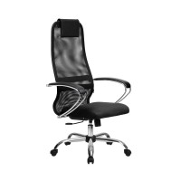 Кресло Metta BK-8 СН черный