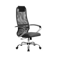 Кресло Metta BK-8 СН серый