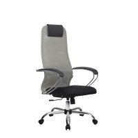 Кресло Metta BK-8 X2 СН светло серый