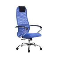Кресло Metta BK-8 СН синий