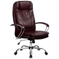 Кресло Metta LK-11 CH бордовый