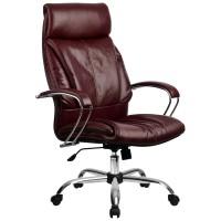 Кресло Metta LK-13 CH бордовый